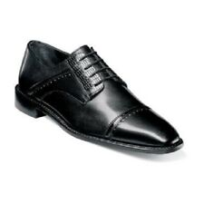 Stacy Adams Mens shoes Ryland Black Leather Lizard print lace up  25113-001