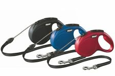 FLEXI NEW Classic Cord Retractable Dog Leash S M Size 5m 16ft up to 20kg 44lbs