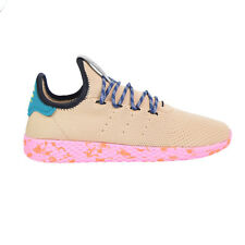 f1f485a0c583d Free Shipping Adidas Pharrell Williams Tennis HU Men s Shoes Tan Teal Pink  Marble by2672