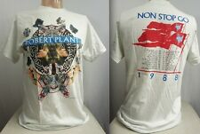 Vtg ROBERT PLANT TOUR SHIRT - 1988 NOW & ZEN Non Stop Go Led/Zeppelin 80s ZoSo