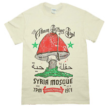 Allman Brothers Syria Mosque 1971 Concert T-Shirt