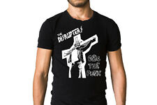 The Disrupters Gas The Punx 2005 Album Cover Inspired Crucifixion Black T-Shirt