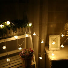 10M 100 Leds Lotus LED Fairy String Light  Christmas Party Home Decoration