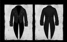 Mens tailcoat cotton Vintage pirate Top Victorian jacket Wedding Ascot Halloween