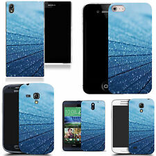 gel case cover for many mobiles - blue lumber silicone