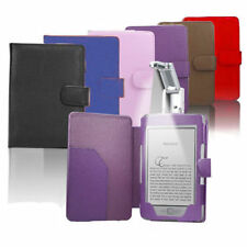 For Amazon Kindle 4 5 Smart Magnetic PU Leather Case Cover Wallet with Light US
