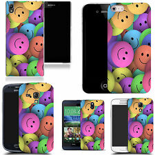 art case cover for many Mobile phones - smiley design silicone