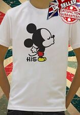 Disney Mickey Mouse His Couple funny cool Kids Boy Girls Unisex Top T-Shirt 753