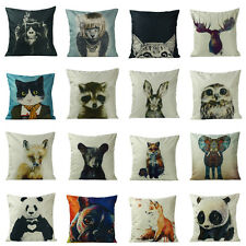 New Animal Polyester Throw Pillow Case Pillow Cover Cushion Cover Home Decor