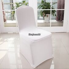 Universal Lycra Spandex Banquet Chair Covers For Wedding Reception Party Banquet