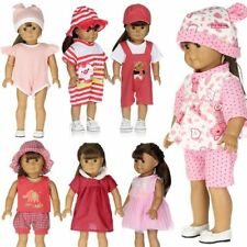 "2017 Cute Dolls Dress Clothes Set Accessories for 17/18"" Zapf Baby Born Doll -AU"