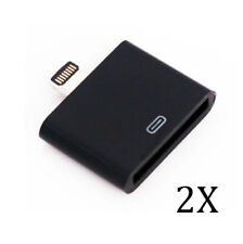 2 x 30Pin To 8Pin Charger/Sync Lightning Adapter For Apple iPhone 5/6 iPad