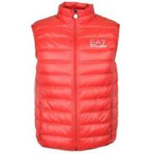EA7 by Emporio Armani 8NPQ01 Ultra-Light Down Racing Red Gillet