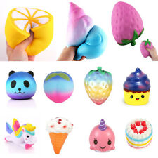Jumbo Squishy Soft Slow Rising Stretch Squishies Stress Relief Toys Kids Gifts