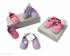 Shoes baby Fille en Etoiles decorative in pink/Violet - BSS-116-429