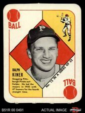 1951 Topps Red Back #15 Ralph Kiner Pirates EX/MT
