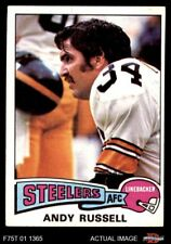 1975 Topps #90 Andy Russell Steelers EX