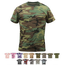 Kids Camo T-Shirt Short Sleeve Military Tee Army Children Top Boys Girls Toddler