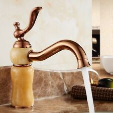 Natural Topaz basin hot and cold faucet European copper faucet XL-171020-05