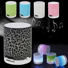 Portable LED Mini Bluetooth Speaker Wireless Stereo TF Card MP3 Music Player