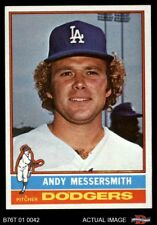 1976 Topps #305 Andy Messersmith Dodgers NM/MT