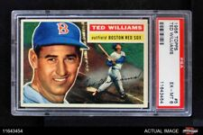 1956 Topps #5 Ted Williams Red Sox PSA 6 - EX/MT