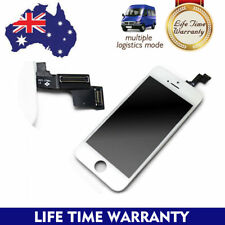 For Apple iPhone 5 C S LCD Digitizer Touch Screen Replacement Black White AUS