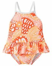 NWT Gymboree Seashore Smiles Baby Shell Flower Swimsuit 0 3 6,12 18 24M