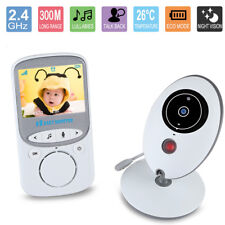 """2.4"""" Wireless HD Video Baby Monitor 2.4GHz Night Vision Security Camera Viewer"""