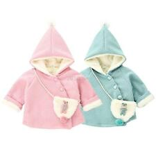 Toddler Baby Kids Girls Winter Warm Jacket Girls Hooded Outerwear Coat Clothes