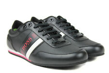 Hugo Boss Men's Trainers Sneakers Lighter Lowp drive 6 7,8,9,10,11,12 Black