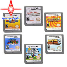 6PCS Mario Game Card Series Children Xmas Gifts For DS NDS DSI 3DS US Version