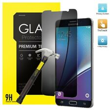 9H Privacy Anti-Spy REAL Tempered Glass Screen Protector  for Samsung  A3 A5 A7