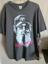 DELTA PRO WEIGHT MMENS SHIRT SIZE S - M & 2XL GRAY DUCK COMMANDER HEY JACK  NWT