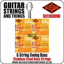 Rotosound SWING BASS 5 STRING Stainless Electric Bass Guitar Strings