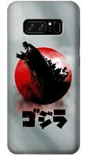 Godzilla Japan Flag Phone Case for Samsung Galaxy Note8 Note5 Note 4 3 2