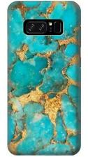 Aqua Turquoise Stone Phone Case for Samsung Galaxy Note8 Note5 Note 4 3 2