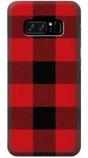 Red Buffalo Check Pattern Phone Case for Samsung Galaxy Note8 Note5 Note 4 3 2