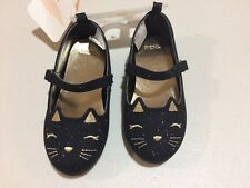 NWT Gymboree Fall Festival Kitty Shoes Flats Cat Toddler Girls SZ 4,6,7,8,9