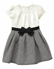 NWT Gymboree CATASTIC Striped Pleated Dress SZ 12 18 24M 3T,4T Toddler Girls