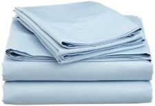 Australian Bedding Collection 1000 Thread Count 100% Cotton Light Blue Solid
