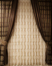 "1 Piece Brown Luxury High Quality Window Curtain Panel 40"" Wide Drapes"