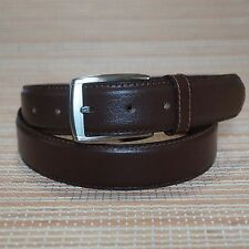 Full Grain Leather Belt For Mens Real Genuine Leather Belt With Pin Buckle