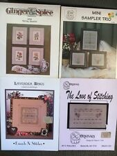 Cross Stitch Patterns - Four Different - You Choose - Very Nice