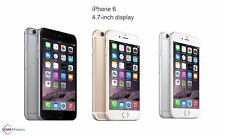 Apple iPhone 6 16/64/128GB GSM Unlocked 4G LTE iOS Smartphone Gold Gray Silver