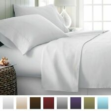 US Bedding Item-100% Egyptian Cotton 1000 TC In USA Size White Solid.