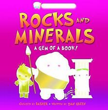Basher: Rocks & Minerals: A Gem of a Book-ExLibrary