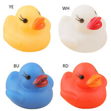 Toy Duck Baby Bath Auto Color Changing LED Lamp Light Vinyl Kid Toys Teether New