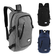 "14"" Laptop Backpack Outdoor Camping Bag Business Travel School Bag Daypack"