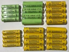20-pcs 1.2v AA(300/600/800mAh)/AAA 600mAh And Ni-Cd/Ni-MH Rechargeable Battery